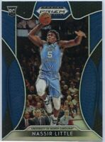 Nassir Little Blue Rookie Card 2019 Prizm Draft Picks Basketball #25 Tar Heels