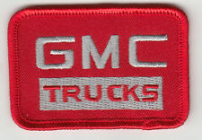 GMC TRUCKS EMBROIDERED PATCH