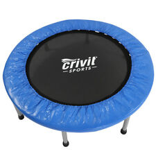 "38"" Mini Band Trampoline Safe Elastic Exercise Workout w/ Padding & Springs"