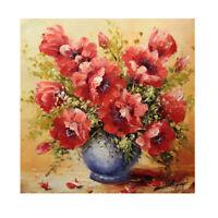 Flower Vase 5D Diamond DIY Painting  Kit Home Decor Craft TN2F