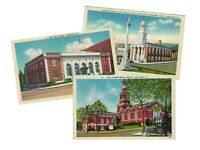 LOT of 3 Lewistown Mifflin County Pennsylvania VINTAGE POSTCARDS