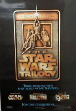"1997 Star Wars ""TRILOGY""  Poster 26""x38""- Imported from Germany-UNUSED(FW),"