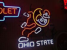 Ohio State Buckeye Light Neon Sign Big Man Cave Sale Check Out Brutus Football
