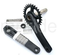 Shimano FC-MT610 170mm, 30/32/34T MTB  Bike Crankset 1x12-speed Black