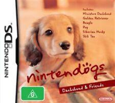 Nintendogs Daschund & Friends Nintendo DS Game USED