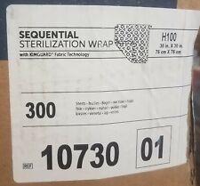 "Halyard 10730 Sequential Wrap 30"" x 30"" Qty 300"