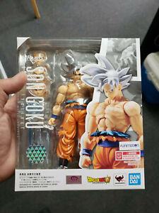 Bandai S.H. Figuarts Dragon Ball Super Son Goku Ultra Instinct Figure In Stock