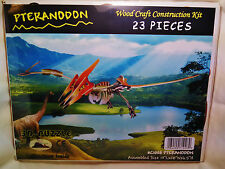 """3D PRE-COLORED WOOD PUZZLE """"PTERANODON"""" BY PUZZLED"""