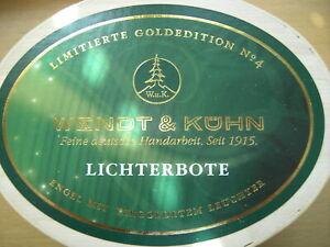 """Wendt und Kühn Goldedition """"LICHTERBOTE"""" Originalausgabe blond"""