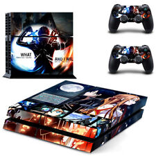 PS4 Skin Sticker Decal Cover 2 Controllers Anime SAO SWORD ART ONLINE