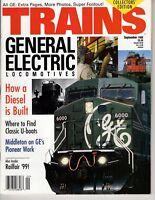 Trains Magazine Railroading Sept 1998 General Electric Locomotives