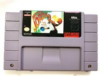 Michael Jordan Chaos in the Windy City SUPER NINTENDO SNES Game Tested + Working
