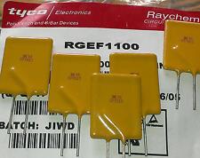 3 Stück Raychem RGEF1100 Resettable Fuse (Multifuse) 11A 16V Sicherung (M1557)