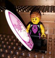 Lego Figur Serie 4 Surferin Sammelfigur Minifig Surfer Girl