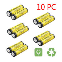 10PCS GARBERIEL 14500 (AA) 3.7V 1200mAH Li-ion Lithium Rechargeable Battery