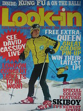 LOOK-IN MAGAZINE 11TH MAY 1974 - QUEEN