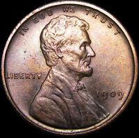 1909 VDB Lincoln Cent Wheat Penny  ---- GEM BU++  ----   #A780