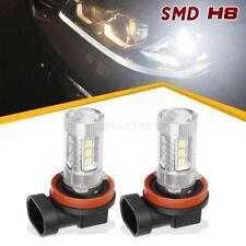 2PCS 80W 1200LM High Power Led Car Fog Driving Light Day Running Light H11 H8 H9