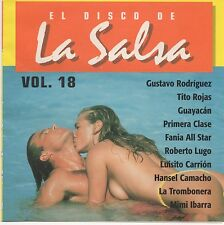 El Disco De La Salsa Vol.18 - ORIGINAL RARE CD! FM Discos -CORAZON EN BLANCO MIX