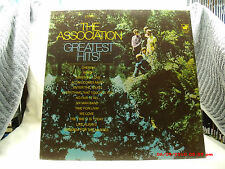 """THE ASSOCIATION -(LP)- GREATEST HITS - FEATURING - """"ALONG COMES MARY""""  -  1969"""""""