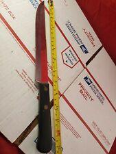 """Vtg Robeson Shuredge """"FROZEN HEAT"""" kitchen Knife 8"""" Blade Rare wicked Sharp (Jl)"""