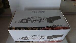 Rare 1:18 MINICHAMPS Porsche 956L #33 American 100's 24h LeMans 1985 New MIB