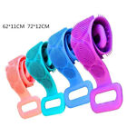 Long Bath Towel Pull Back Strap Silicone Shower Back Scrubber Exfoliating Sc .