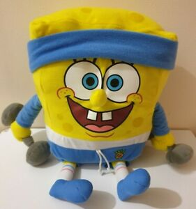 Spongebob Squarepants Plush Gym Exercise Fitness Weights Nickelodeon 2011