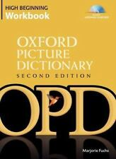 The Oxford Picture Dictionary Second Edition High Beginning Workbook-ExLibrary
