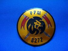 PORTUGAL CAPE VERDE AFRICA WAR PPM  8272 MILITARY POLICE BADGE 60mm