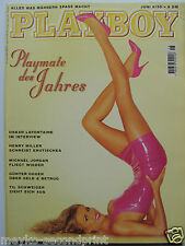 Playboy - D 6/1995, Michael Jordan, Eveline Poyss, Daniela Jambrek, Amanda Lear