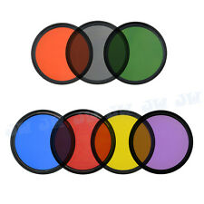 7pcs Full color filters For 58mm Canon EOS 700D 650D 600D 550D 100D 70D 5D  Lens