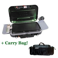 COLEMAN EVENTEMP 3 BURNER (GRIDDLE HOT PLATE & CARRY BAG) STOVE GAS CAMPING LPG