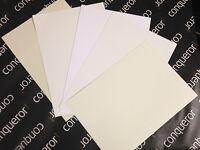 A4-A3-A2 - Conqueror 300gsm Card, Choice Of Colours, DIY Wedding Stationery