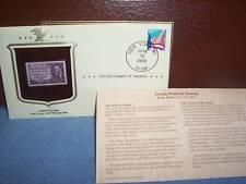 JOSEPH PULITIZER COLLECTOR 3 CENT  STAMP  MINT 2000