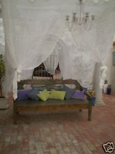 Alfresco Dining or Daybed CanopyBalinese Mosquito Net 200x250cm Lge King Bed
