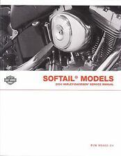 2004 Harley Softail FLS FXC Repair Service Workshop Shop Manual Book 99482-04