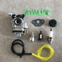 Carburetor Carby F 24cc 25cc 26cc sanli Brushcutter Generator trimmer Part 1E34F