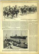 1902 Transport Bavarian Split Head Gunner Evans Accident