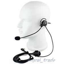2 PIN Headset PTT for Motorola GP300 CP200 HYT TC600 TC700 Radio with boom C2F2