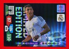 CHAMPIONS LEAGUE 2013-14 Panini -XXL Card Limited Edition- RONALDO - REAL MADRID