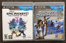 Disney's Epic Mickey 2: The Power of Two w/ Sports Champions PS3 Playstation 3