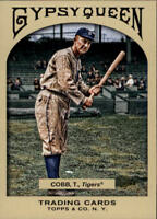 2011 Topps Gypsy Queen Baseball #29 Ty Cobb