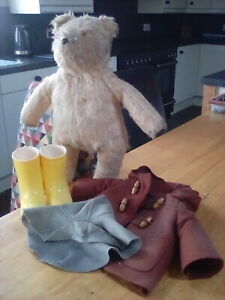 GABRIELLE PADDINGTON BEAR. My bear from the 1970s . . read on for his story . .