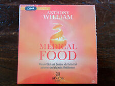 "Anthony William ""MEDICAL FOOD"",2 mp3-CDs,ungekürzt,neu,OVP,ohne Porto"