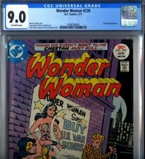PRIMO:  WONDER WOMAN #230 vs CHEETAH VF/NM 9.0 CGC 1977 WW DC comics movie