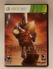 Fable III 3 Limited Collector's Edition XBOX 360 with Manual