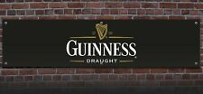 Large Guinness Draught printed banner 50cm x 210cm ideal for Pub or man cave