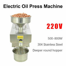 220V Automatic Commercial Oil Screw Press Seed Peanut Press Machine Oil Expeller