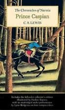 The Chronicles of Narnia: Prince Caspian by C. S. Lewis (2008, 4-CD / Paperback)